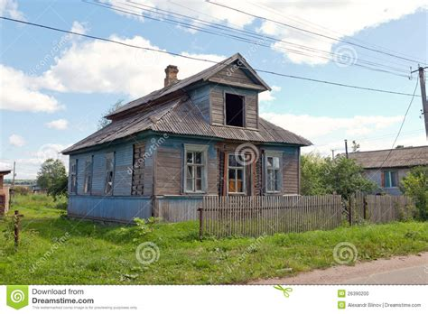 old wooden house in russian village stock photo colourbox old wooden house in russian village stock photo image