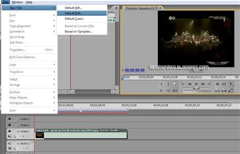 cara membuat tulisan pada video adobe premiere cara membuat teks bergerak pada adobe premiere catatan febby