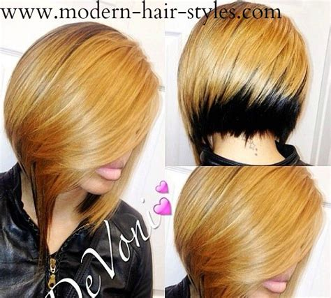 ebony two toned colored bobs blonde hairstyles for black hair pictures and styling details