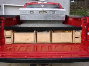 truck bed storage truck box vehicles