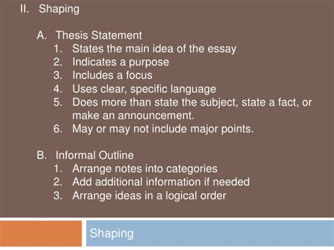 Stages Of Writing An Essay by Stages Of Writing An Essay