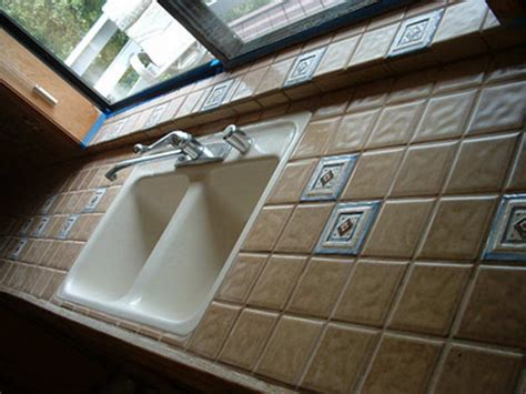 Glass Tile Kitchen Countertop by Bloombety Types Of Countertops For Kitchen With Ceramic