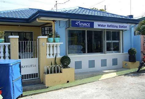 Letter Water Refilling Station Vivace Water Refilling