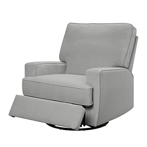 Baby Recliner Sleeper by Baby Relax Rylan Swivel Gliding Recliner Gray Furniture