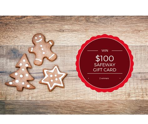 Safeway Gift Card Deals - enter to win 100 safeway gift card on december 1st super safeway