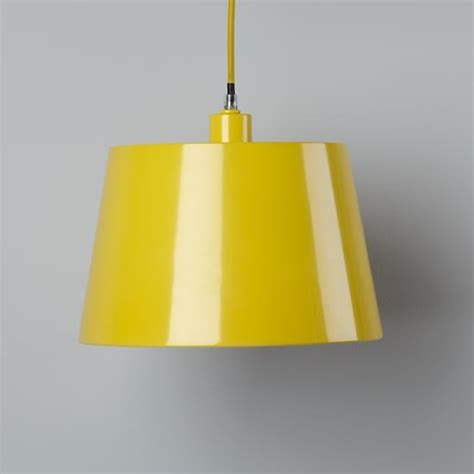 Yellow Pendant Light Pop Of Color Pendant Shade Yellow Rectangle Modern Pendant Lighting By The Land Of Nod