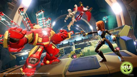 Disney Infinity Marvel Ultron 30 Edition disney infinity 3 0 marvel battlegrounds play set coming