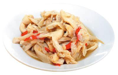 resep masakan tumis tahu jamur tiram  saus tiram