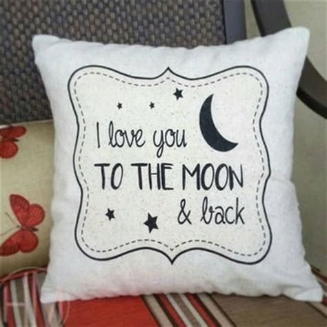 best you to the moon and back pillow products on wanelo