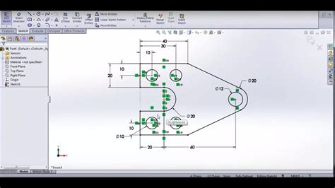 solidworks tutorial on youtube solidworks tutorial 1 creating sketches youtube