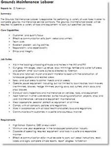 Landscaping Description For Resume landscape resume duties landscaping skills
