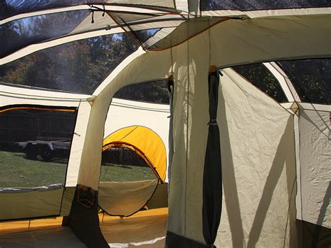 jeep 3 room family cabin dome tent