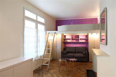 Mettre Un Lit Dans Un Studio by Un Studio De 20 M2 Avec Mezzanine Le D Une