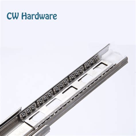 10 inch 2pcs stainless steel drawer slides one pair