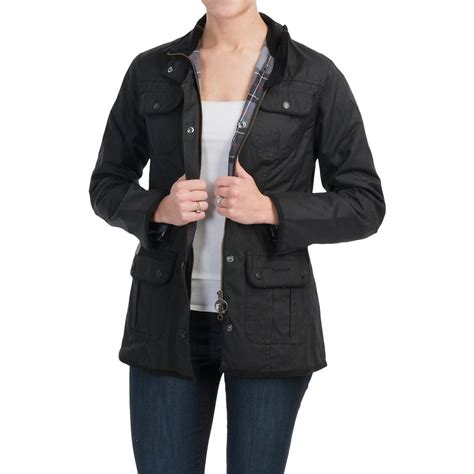 womens barbour waxed cotton utility jacket barbour barbour utility sylkoil waxed cotton jacket for women