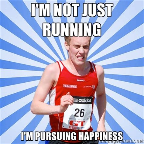 Runner Meme - 20 things only distance runners understand