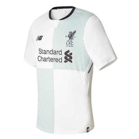 Liverpool 3rd 2017 2018 les trois maillots de foot liverpool 2018 sont connus maillots foot actu