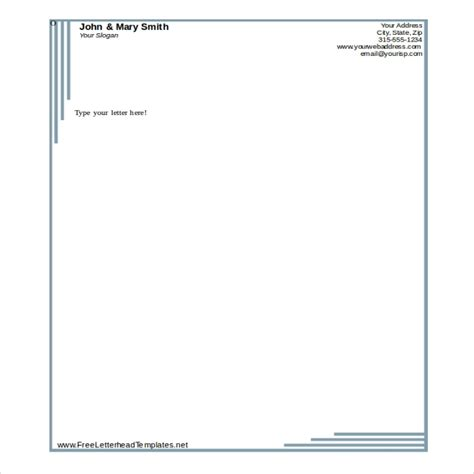 free business letterhead templates for word microsoft word letterhead template beepmunk