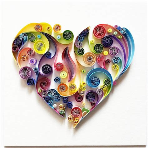 How To Make Quilling Paper Strips At Home - quilled paper colourful