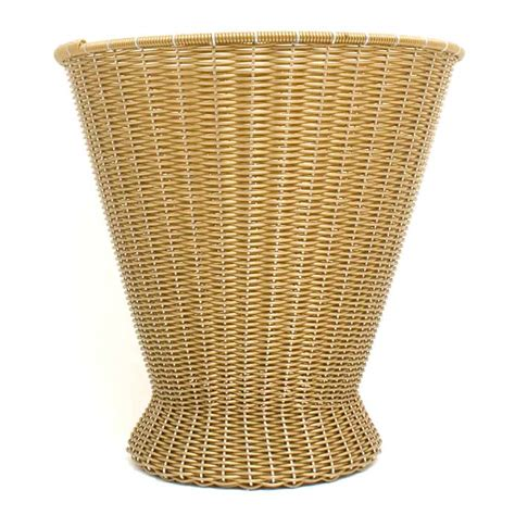 Paper Basket - gold made paper basket milagros