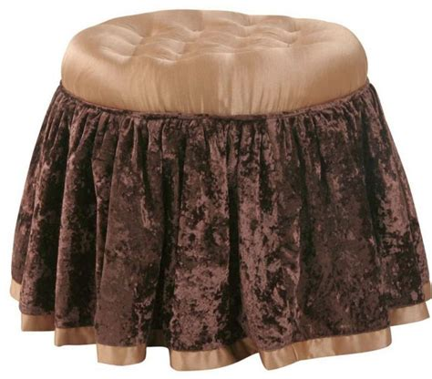 skirted vanity stool 18 appealing skirted vanity stool designs