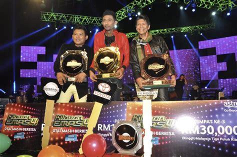 Baju Raja Azura Kilauan Emas arip raih gelaran juara kilauan emas 4 berita hiburan mstar