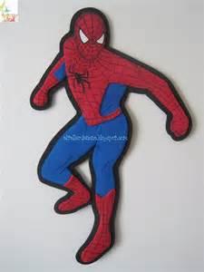 imgenes de portaretratos hombre araa en fomi aplique de spiderman moldes manualidades en goma eva y