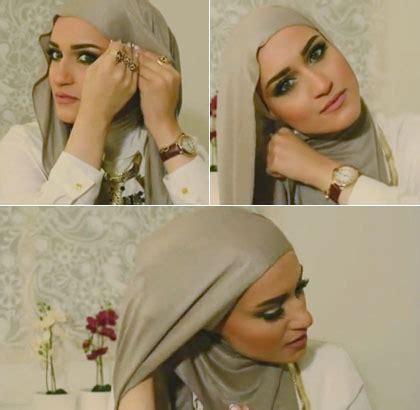 tutorial hijab ala wanita arab tutorial hijab khas wanita kuwait ala si cantik dalal al doub