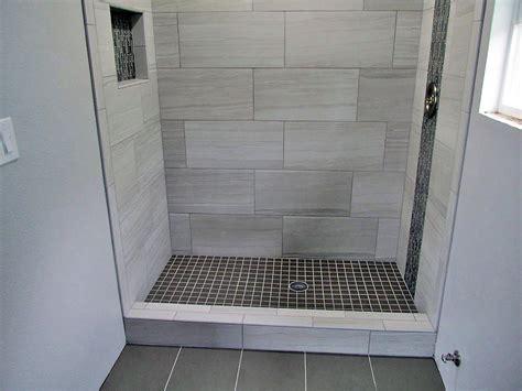 bathroom rev ideas 12x24 porcelain tiles with glass mosaic