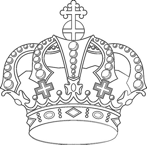 crown coloring page royalty coloring pages and crowns