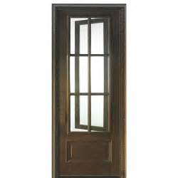 Barn Door Guide Dsa Doors Breezeport Tdl 6lt E 01r Breezeport 6 Lite Tdl