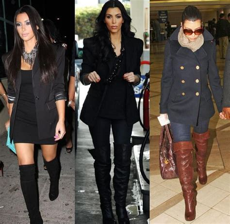 how to wear the knee boots knee