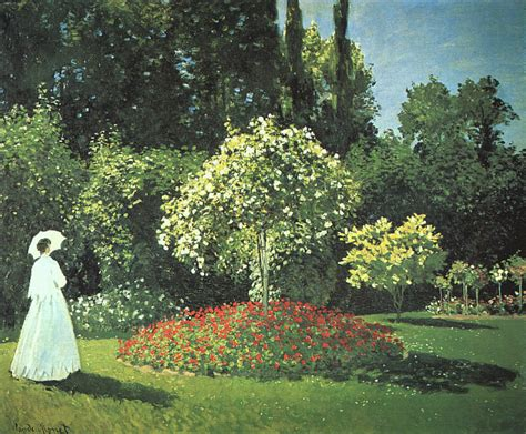 claude monet donne in giardino impression jardin 224 giverny the morning bark