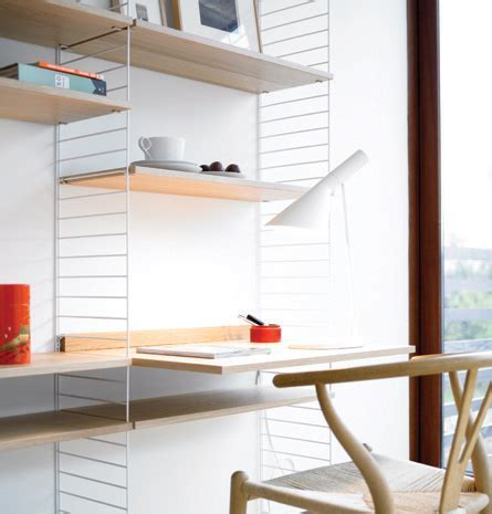 Minimalist Scandinavian Shelves and Cabinets System That