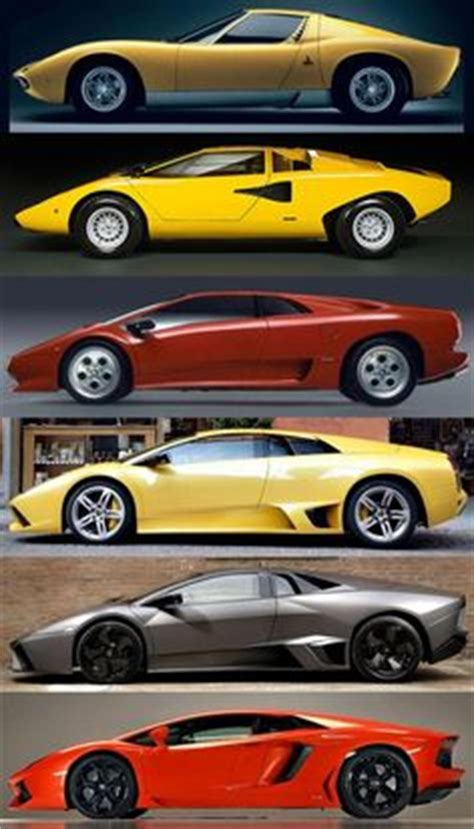 Lamborghini Timeline 1000 Images About Sports Cars I Want On
