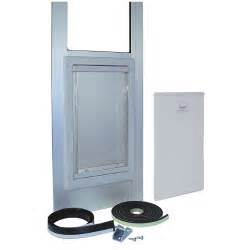 Pet Door Patio by Pet Patio Door Sliding Glass Medium Dog Cat Silver