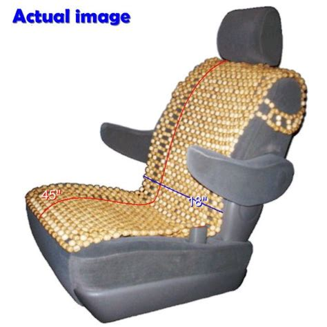 bead seats wood bead seat cover cool cushion review
