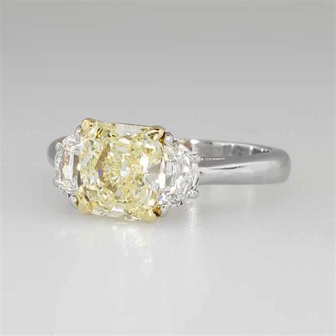 yellow diamonds in the light light yellow engagement rings imgkid com