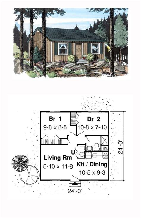 weekend cabin floor plans house plans cabin and house on