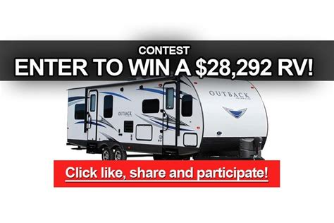 Contest To Enter To Win Money - contest enter to win a keystone outback rv worth 28 292