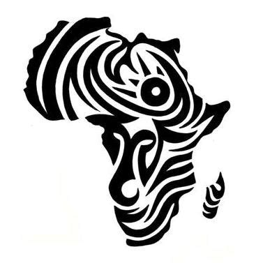 tattoo on pinterest   african tribal tattoos, africans and