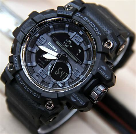 casio g shock gac1000 fullblack jam tangan casio g shock gg 1000 black delta shop