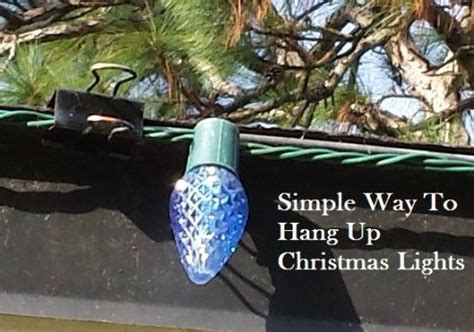 how to hang christmas lights on roof peak 25 best ideas about christmas lights outside on pinterest
