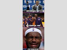 "And KObe said, ""MVP""! And LeBron said, ""Ring"" Stop picking ... Lebron 9 What The Mvp"