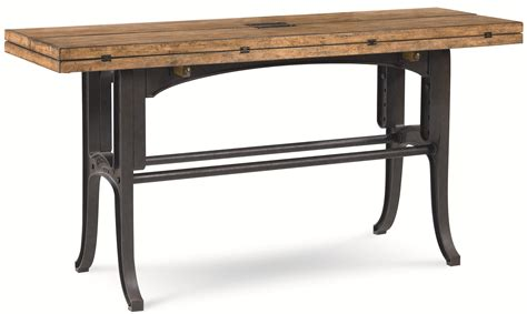 Drop Leaf Console Table Reinventions Boulton And Watt Flip Top Sofa Table By Thomasville 174 Drop Leaf Console Tables