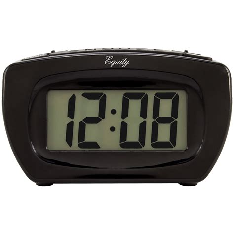 equity by la crosse 31015 loud digital alarm clock