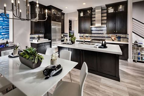 kitchens with dark cabinets and light countertops 35 luxury kitchens with dark cabinets design ideas
