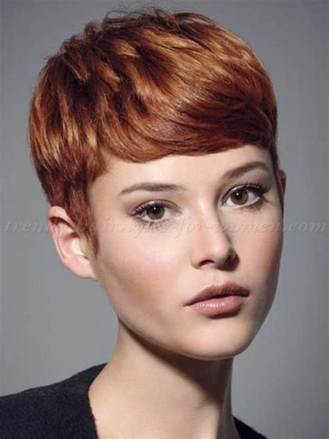 red short cropped hairstyles over 50 best 25 short hairstyles with fringe ideas on pinterest