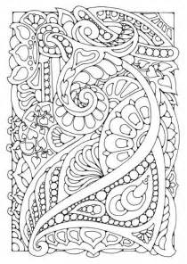 doodle coloring pages self care sunday mindful colouring sheets