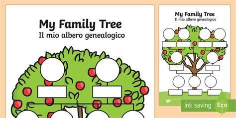 esl family tree template my family tree italian my family tree worksheets